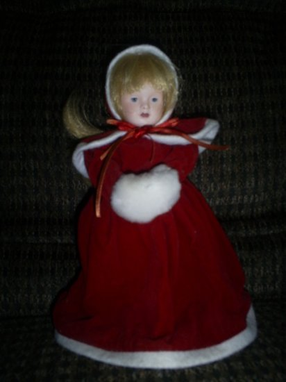 Avon Victorian Collector Doll, 1983 with box