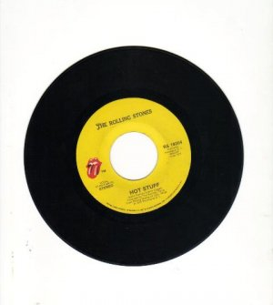 The Rolling Stones, Hot Stuff, Fool to Cry 45 record
