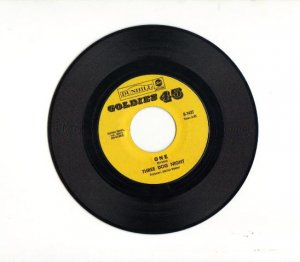 Three Dog Night,  One & Try a little Tenderness  45 record