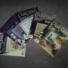 For the Love of Cross Stitch,  Five Magazines, Very Good Condition