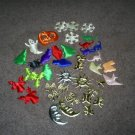 Assortment of  Puffy Fabric Appliques, New