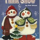 Think Snow, by Pat Olson,  Full Size Patterns of Wintertime Designs