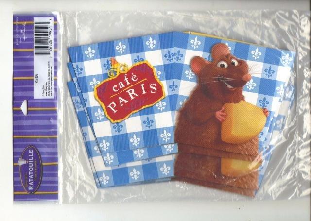 Hallmark Party Treat Boxes, Ratatouille, New Set of Four in Bag