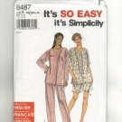 Simplicity Pattern # 8487, Size A Small, Used once, complete