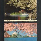 Vintage Postcards,  Jefferson Memorial, Very Good Condition