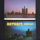 Vintage Postcards, Detroit, Michigan, Very Good Condition