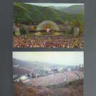 Hollywood Bowl, Vintage Postcards, Very Good Condition