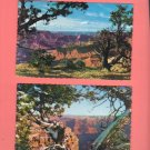 Vintage Scallop Edge Postcards, Grand Canyon National Park, Very Good Condition