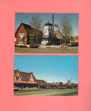 Vintage Postcards, Solvang California, Very Good Condition