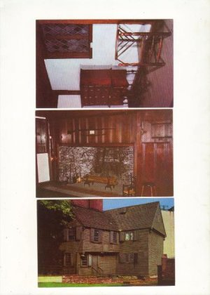 Three Vintage Postcards, Paul Revere House Very Good Condition