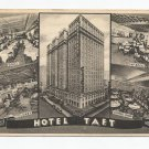 Vintage Postcard, Hotel Taft, New York, 1941 Post Mark
