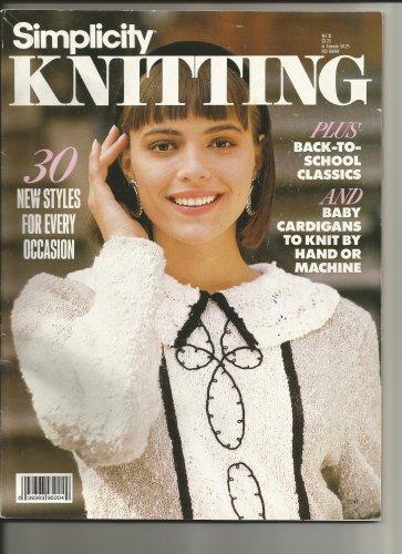 Two knitting pattern books, Vintage books