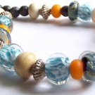 By The Ocean - Handmade Lampwork Necklace (LD912)