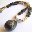 Midnight Dreams - Handmade Lampwork Necklace (MC627)
