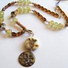 Warm Evening - Handmade Lampwork Necklace (GP167)