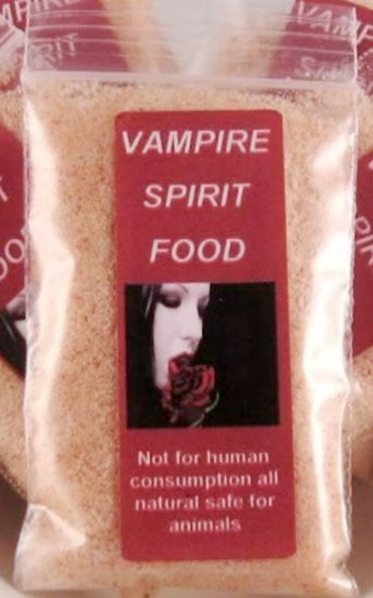 Vampire Haunted Spirit Food