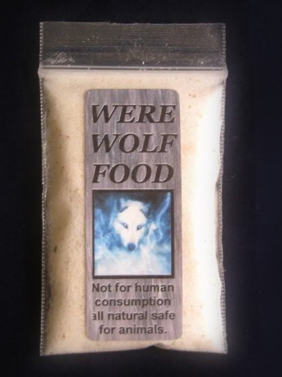 Werewolf Haunted Spirit Food