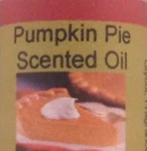 APHRODISIAC SCENTED CANDLE OILS (Pumkin Pie)