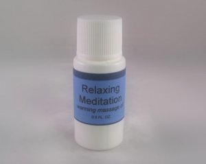Relaxing Meditation Massage Oil for Haunted Sex