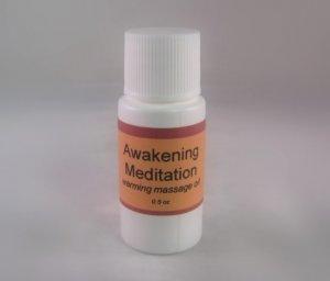 Awakening Meditation Massage Oil for Haunted Sex