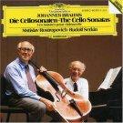 Brahms: Cello Sonatas, Mstislav Rostropovich, Rudolf Serkin, Audio CD