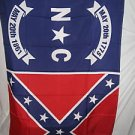 NORTH CAROLINA STARS AND BARS FLAG 3 X 5 3X5 NEW