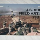 U.S. ARMY FIELD ARTILLERY 13B LICENSE PLATE NEW METAL
