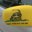 GADSDEN FLAG CAR MIRROR COVER OSFM NEW