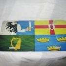 IRISH PROVINCES IRELAND LICENSE PLATE 6 X 12 NEW