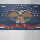 CIVIL WAR 20TH MAINE UNION FLAG LICENSE PLATE 6 X 12 NEW ALUMINUM