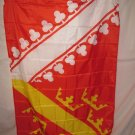 ALSACE PROVINCE FRANCE FRENCH FLAG, 3 X 5, 3X5 NEW!!