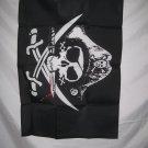 PIRATE TRICORNER DEADMANS CHEST FLAG 2 X 3 2X3 NEW