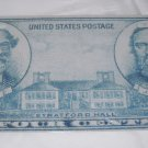 CIVIL WAR LEE AND STONEWALL JACKSON 4 CENT LICENSE PLATE ALUMINUM 6 X 12 NEW