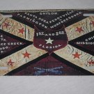 CIVIL WAR CSA 1ST AND 3RD FLORIDA INFANTRY FLAG LICENSE PLATE 6 X 12 NEW