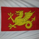WESSEX ENGLAND FLAG SIZE 3X5 3 X 5 FEET NEW YELLOW DRAGON