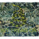 CAMO GADSDEN DONT TREAD ON ME LICENSE PLATE 6 X 12 NEW ALUMINUM