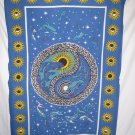 DOLPHIN YING YANG TAPESTRIE TAPESTRY 54 X 86 Aprox New