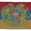 ARMENIA ARMIENIAN FLAG CREST LICENSE PLATE 6 X 12 INCHES NEW ALUMINUM