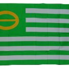 GREEN ECOLOGY FLAG PEACE FLAG FLAG 3 X 5 3X5 NEW