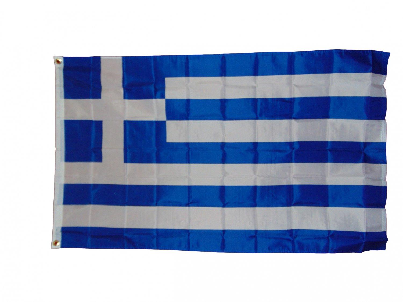 GREEK GREECE NATIONAL FLAG 3X5 3 X 5 VERY NICE NEW
