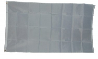 SOLID WHITE SURRENDER FLAG 3 x 5 3x5 FEET NEW POLYESTER 2 GROMMETS
