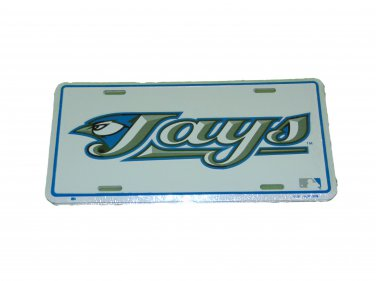 TORONTO BLUE JAYS MLB LICENSE PLATE 6 X 12 INCHES NEW ALUMINUM