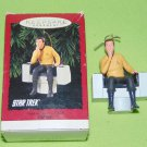 VINTAGE STAR TREK ORIGINAL SERIES CAPTAIN KIRK CHRISTMAS ORNAMENT 1995
