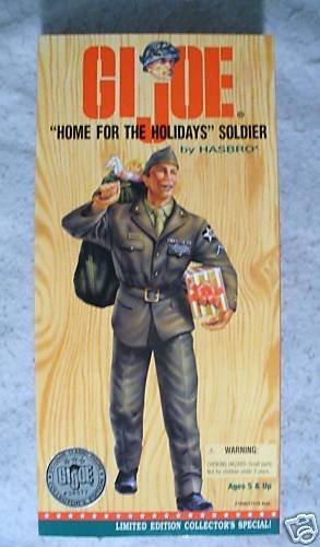 "GI Joe 12"" Home for the Holidays Soldier   MIB !"