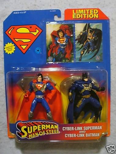 Superman Man Of Steel Cyber Link SUPERMAN & BATMAN Ltd.