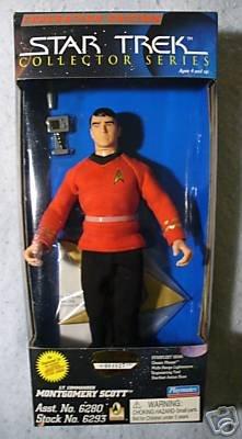 STAR TREK  Collector Series  9 inch SCOTT MIB