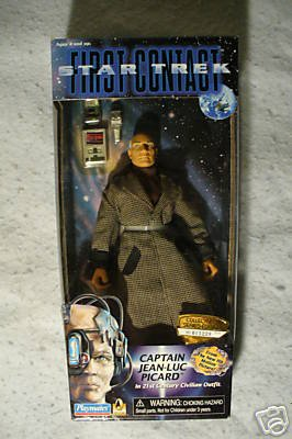 STAR TREK FIRST CONTACT 9 inch PICARD Playmates MIB