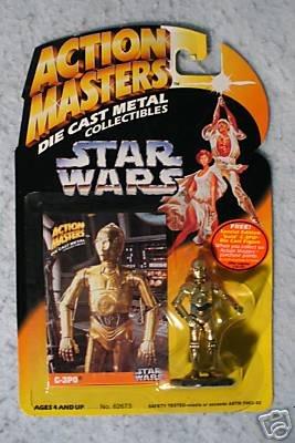 Star Wars Action Masters Die Cast C-3PO MOC