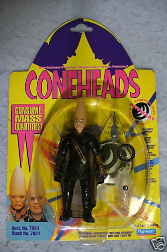Coneheads Movie Prymaat In Full Flight Uniform MOC
