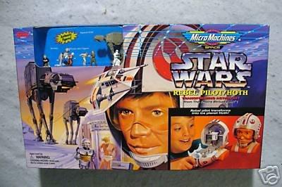 Star Wars Micro Machines Rebel Pilot Hoth MIB